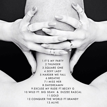 Jessie J unveils new track list for her new album Alive