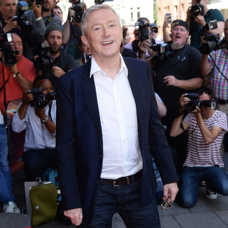 Louis Walsh and Matt Richardson snap suits at X Factor press launch