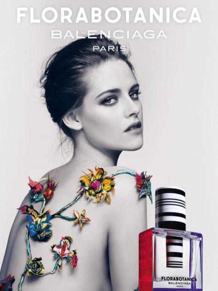 Kristen Stewart Balenciaga Florabotanica advert 2013
