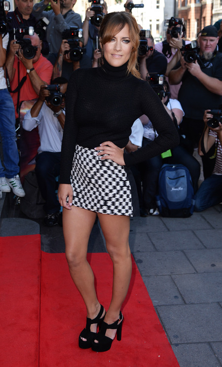 Caroline Flack wears Missoni and ASOS at X Factor press conference