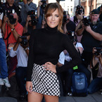 Caroline Flack works ASOS at X Factor launch