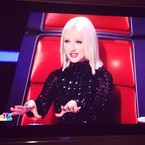 The Voice: New Christina Aguilera pic
