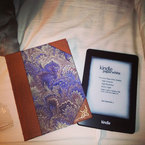 Millie Mackintosh shows off new Kindle Paperwhite