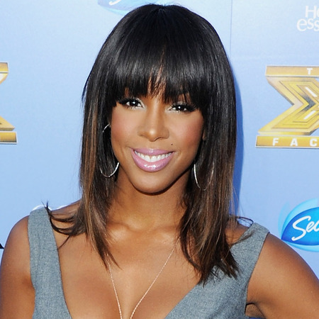 Kelly Rowland at X Factor USA Series Three launch party