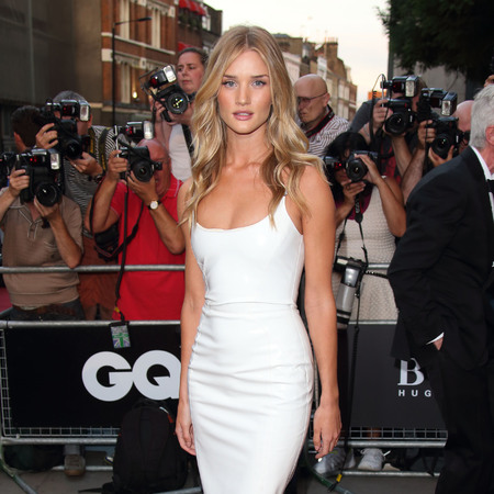 Rosie Huntington-Whitely at the GQ Men of the Year Awards 2013