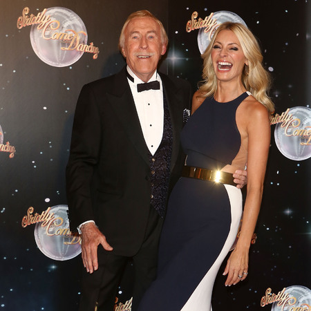 Tess Daley and Bruce Forsyth