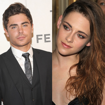 Zac Efron and Kristen Stewart