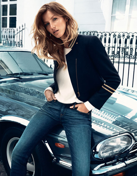 Gisele for H&M Autumn/Winter 2013 collection