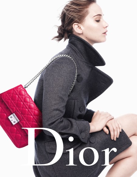 Jennifer Lawrence Miss Dior AW13 campaign