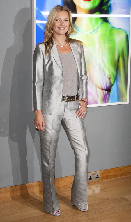 Masculine Fashion Trend Kate Moss