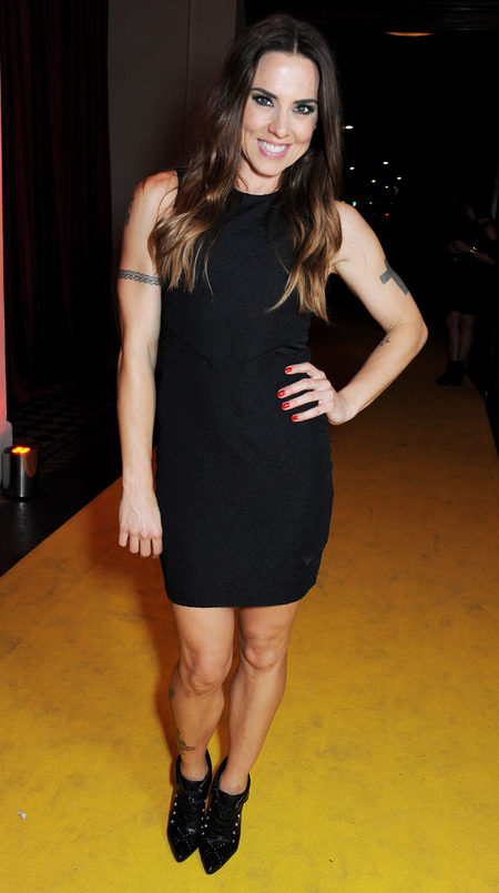 Mel C makes like Victoria Beckham in classic LBD