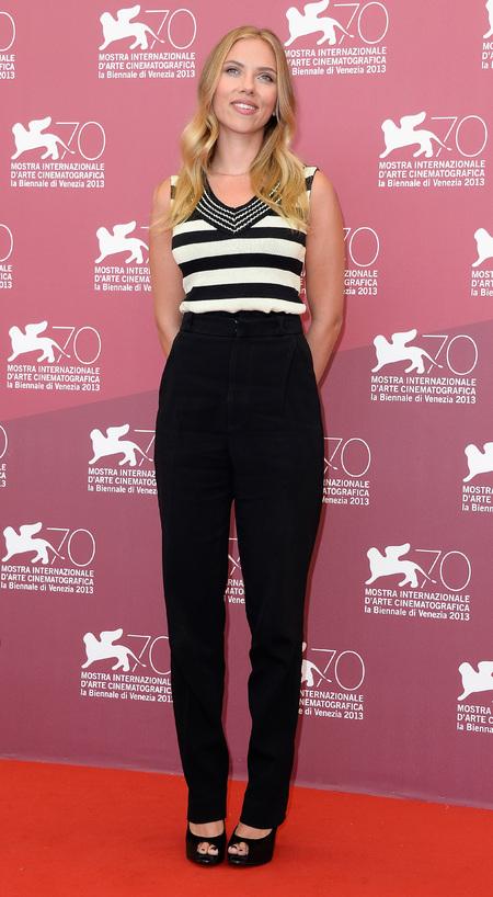 Scarlett Johansson at Venice Film Festival 2013