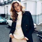 Gisele is the face (and voice) of H&M AW13