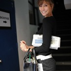 What's in my handbag: Karlie Kloss at NYFW SS14