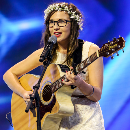 Abi Alton at X Factor 2013 live audition