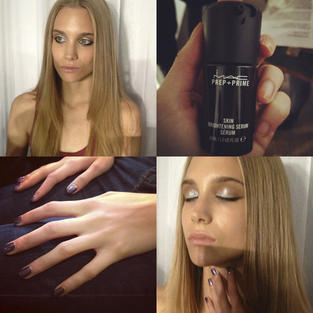 Antipodium backstage beauty trends LFW SS14