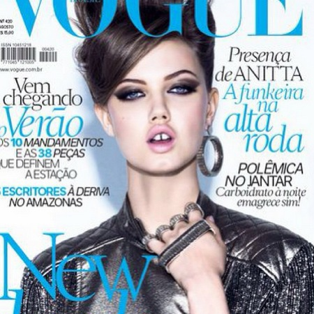 Lindsey Wixson Vogue Brazil cover