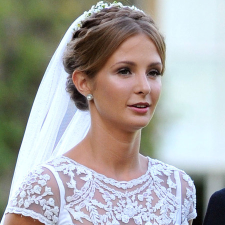 Millie Mackintosh vintage Alice Temperley gown