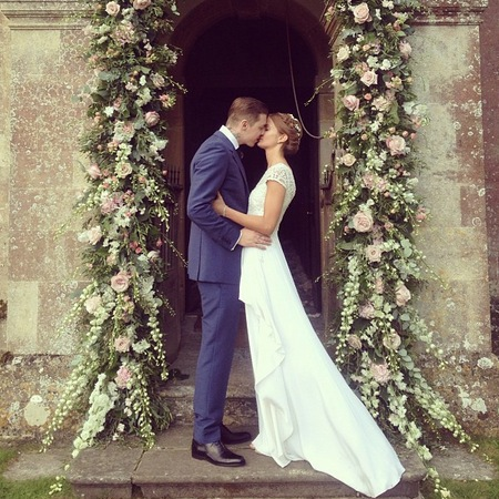 Millie Mackintosh's wedding dress