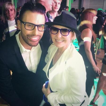 Rylan Clark at Spectacle Wearers of the Year