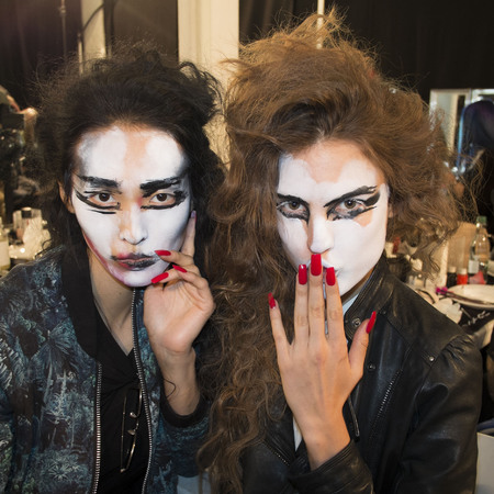 Vivienne Westwood SS14 makeup at LFW