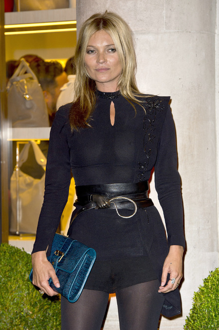 BEST KATE MOSS MOMENTS: London Fashion Week Longchamp opening