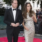 Kate Middleton sparkles in Jenny Packham dress