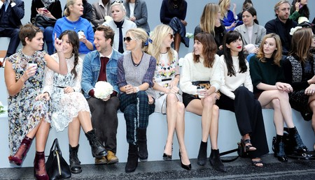 London Fashion Week SS14 celebrity style