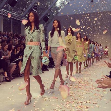 Burberry SS14 LFW finale