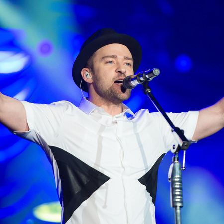 Justin Timberlake performs at Rock in Rio 2013