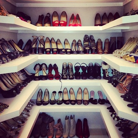 Kelly Brook shoe collection