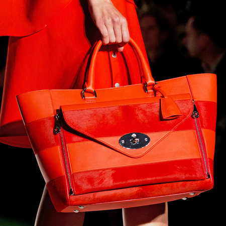 Mulberry handbag SS14 at LFW