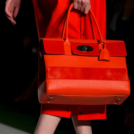 Mulberry handbags from LFW SS14