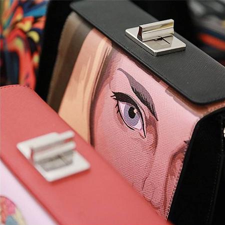 Prada handbag MFW SS14