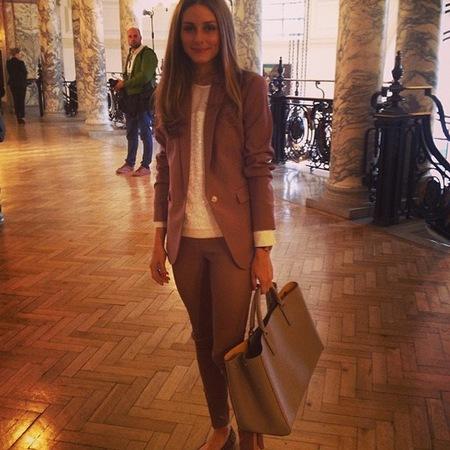 Celebrity handbags at London Fashion Week SS14