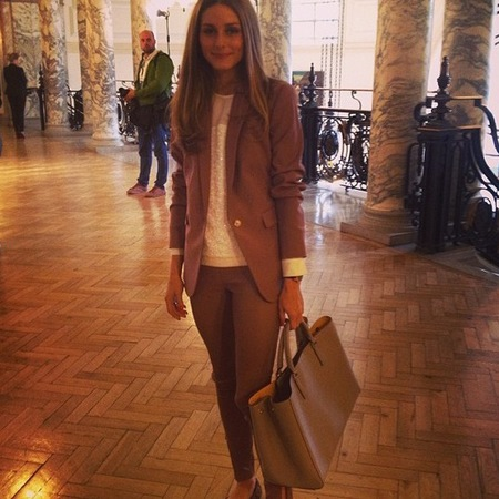 Olivia Palermo's featherlight Ebury bag