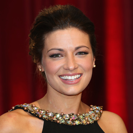 Sophie Austin at British Soap Awards 2013