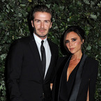 David & Victoria Beckham step out in matching suits