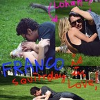 James Franco's mock paparazzi shots