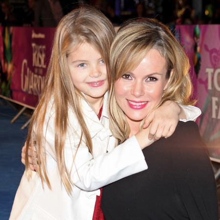 Amanda Holden and daughter Lexi