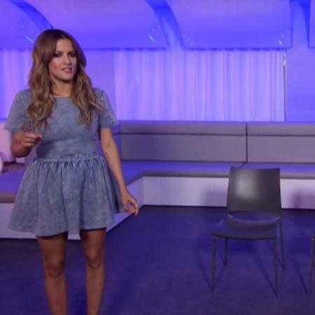 Caroline Flack X Factor Bootcamp seats