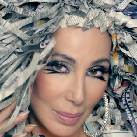 Cher in 'Woman's World' music video