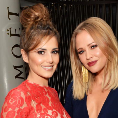 Cheryl Cole and Kimberly Walsh at Kimberly's book launch