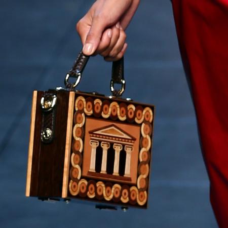 Dolce & Gabbana handbag at MFW SS14