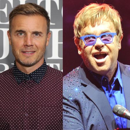 Elton John and Gary Barlow