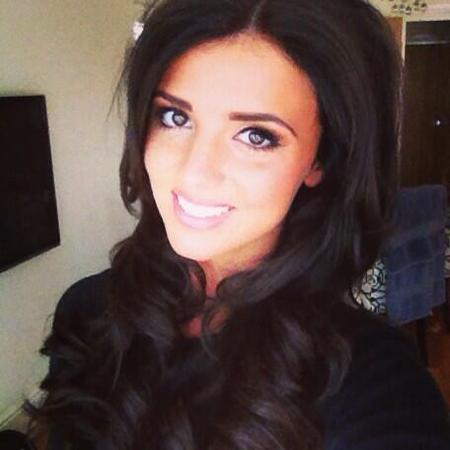 Lucy Mecklenburgh with new LAs Vegas hair extensions