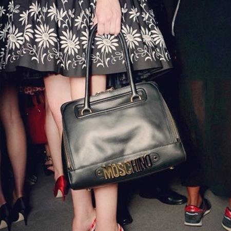 Moschino 30 Anniversary handbags