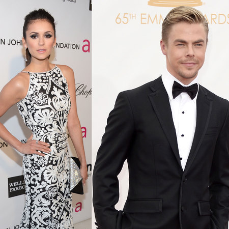 Nina Dobrev and Derek Hough