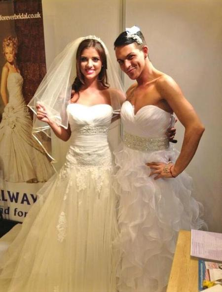 TOWIE star Lucy Mecklenburgh wedding dress