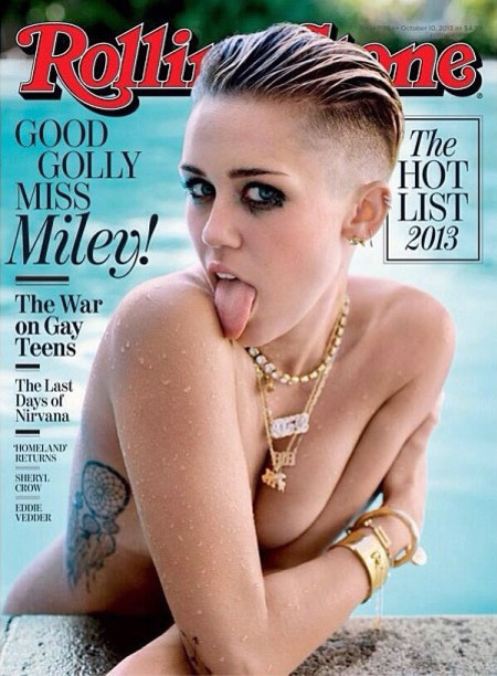 Miley Cyrus Rolling Stones cover 2013